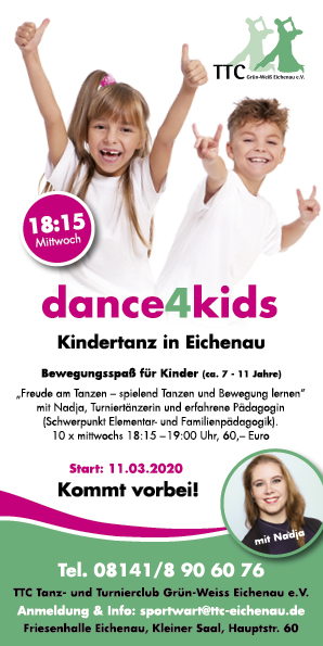 Kindertanz Dance4Kids